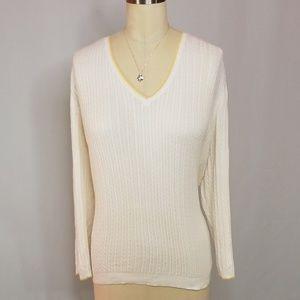 Ralph Lauren Lightweight Cable Knit Sweater